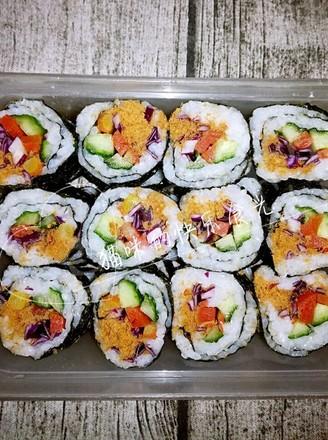 寿司的制作的做法