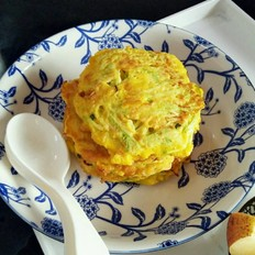 早餐茭瓜饼