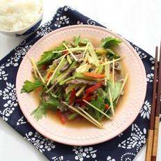 小炒牛肉#秋季保胃战#