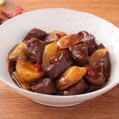 土豆炖牛肉