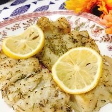 迷迭香烤鳕鱼