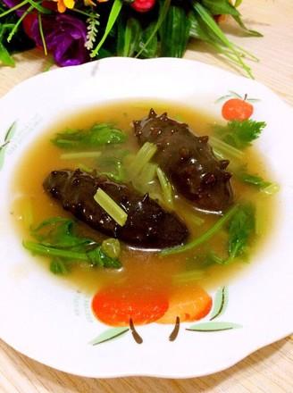 海参芹菜的做法