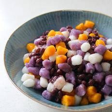 芋圆红豆冰