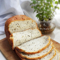 黑芝麻面包