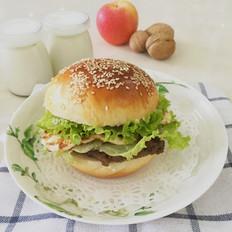 自制冷藏中种汉堡的做法[图]
