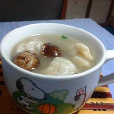 香菇瘦肉饺子