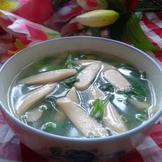 菠菜火腿汤