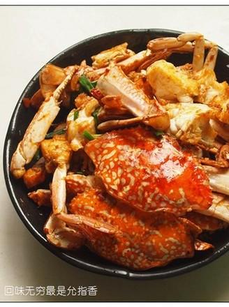 香辣花蟹的做法