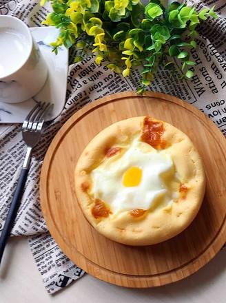 鸡蛋面包的做法