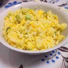 黄豆蛋炒饭