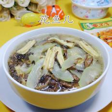 梅干菜腐竹煮夜开花的做法[图]