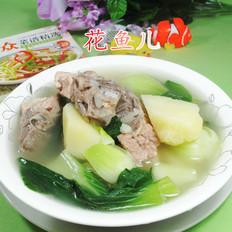 青菜土豆龙骨汤