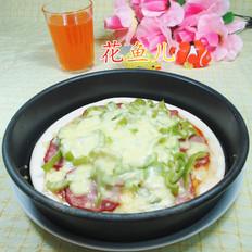 尖椒培根披萨