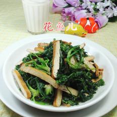 香干炒荠菜