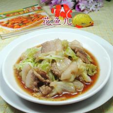 猪肉炒包心菜