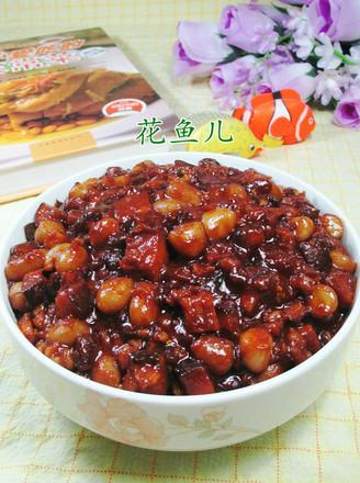 肉末花生米香菇酱的做法