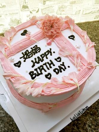 送给妈妈的蛋糕的做法