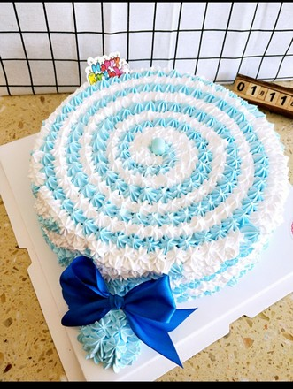 棒棒糖蛋糕的做法