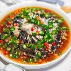 豉汁蒸鳗鱼