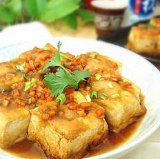 梅州客家酿豆腐