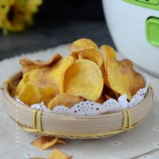 奶香红薯片#苏泊尔第二季晋级赛#