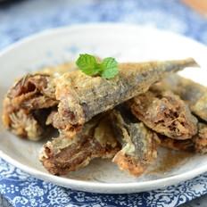 干炸椒盐沙丁鱼