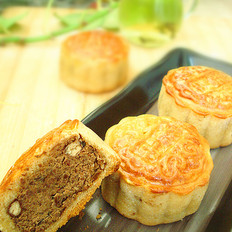 红豆沙广式月饼