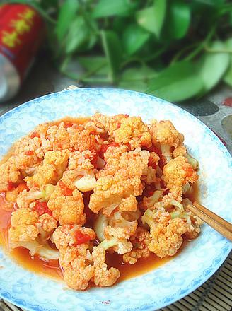 番茄烧菜花