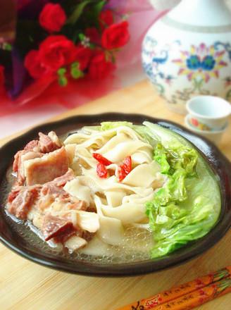 河南羊肉烩面的做法 菜谱