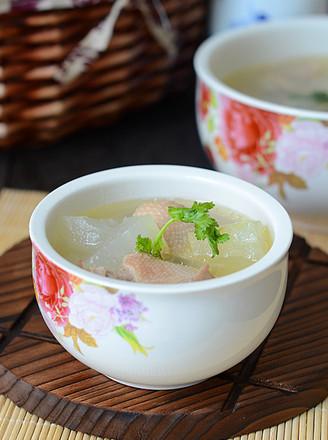 苏泊尔冬瓜鸭汤的做法