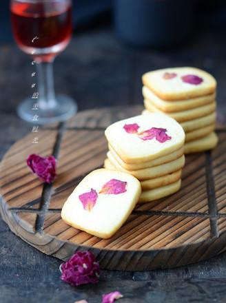 玫瑰饼干的做法
