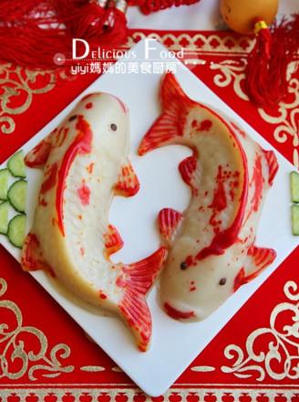 锦鲤椰浆年糕的做法