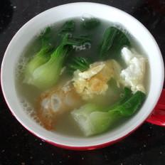 油菜鸡蛋汤