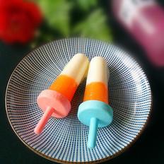 木瓜酸奶冰棍