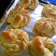 椰蓉面包  家庭烤箱版 6个装