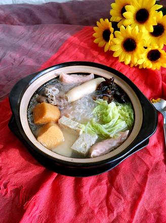 白菜粉丝小砂锅的做法
