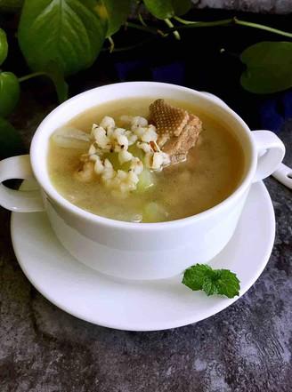 霸王超市|冬瓜薏米老鸭汤的做法