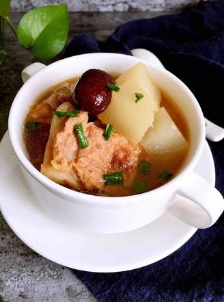 霸王超市|白萝卜猪骨汤的做法