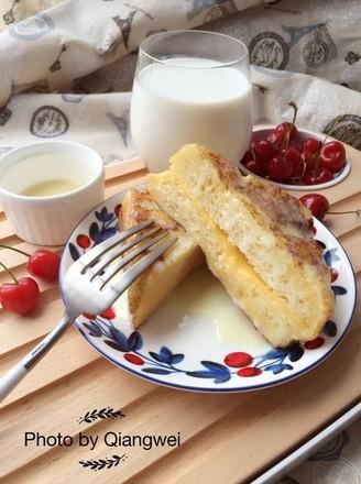 超快手早餐港式西多士的做法