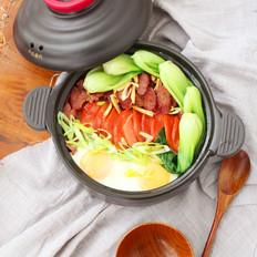 #九阳炒菜机#腊肠煲仔饭