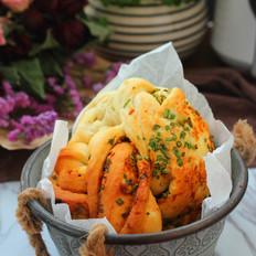 香葱肉松面包