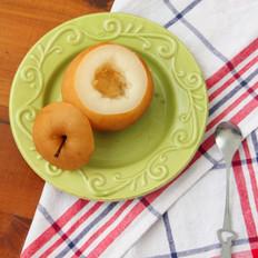 冰糖蒸红梨的做法[图]