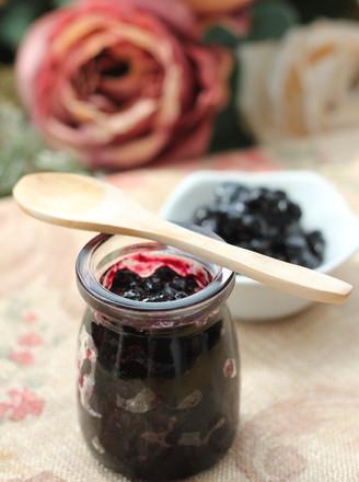 自制蓝莓酱的做法_家常自制蓝莓酱的做法【图