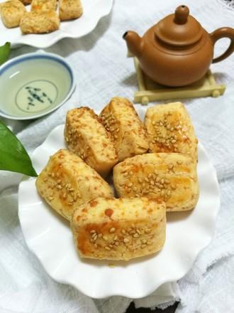 咸香芝士饼干#下午茶#的做法
