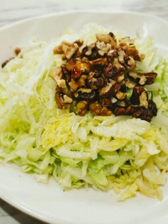 清拌圆生菜#每日一道减肥餐#的做法