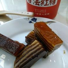 红糖椰汁马蹄糕