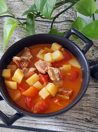 西红柿炖牛肉的做法