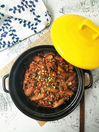 鱼香茄子煲#晚餐#的做法