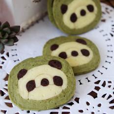 萌翻天的熊猫饼干