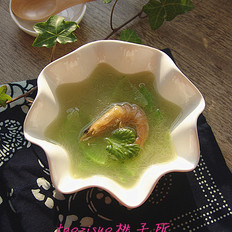 翡翠煮虾干